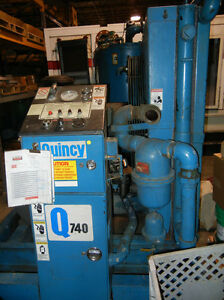 Used Quincy Qsi740 Rotary Screw Air Compressor