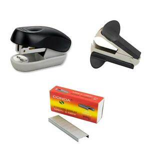 3 in 1 Set Includes Mini Stapler Stapler Remover And 1000 Count Staples