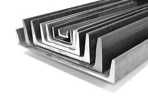 10 15 Per Ft Channel Iron Mild Steel 1 Pieces 48 A 36 Ups Shipping Alro