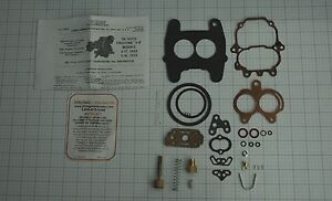 1952 54 Carb Kit Carter 2 Barrel Model Bbd Carburetors Desoto 8 Cylinder