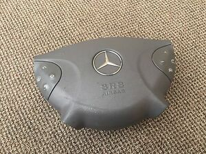 Mercedes Oem W211 Front Left Side Steering Wheel Impact Crash Airbag