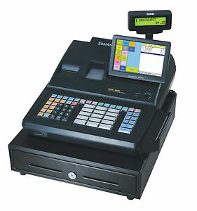 New Sam4s Sps 520 Rt 7 Touch Screen Hybrid Pos Cash Register With Programming