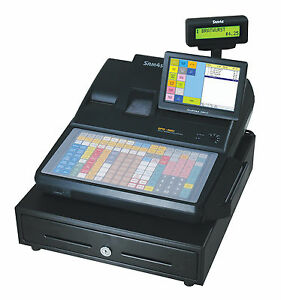 New Sam4s Sps 520ft 7 Touch Screen Hybrid Pos Cash Register Free Shipping
