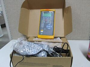 Fluke Networks E3port Plus Handheld E3 atm Analyzer With Adapter And Case