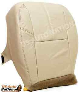 2007 2008 2009 2010 2011 2012 Chevy Silverado Bottom Leather Seat Cover Tan
