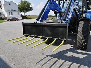 Euro 60 Manure Fork 7 36 Cranked Tines