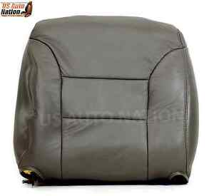 1995 1996 1997 1998 1999 Tahoe Suburban Top Lean Leather Back Seat Cover Gray