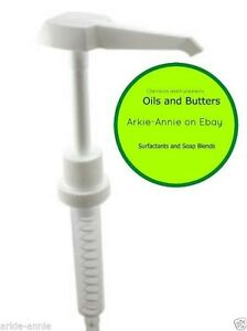 Set Of Six 1 Oz Pump Dispenser For Gallon Jugs Jar Syrup Nutrient Lotion