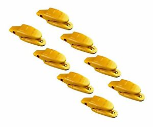 8 Cat Style Backhoe Mini Excavator Bucket Shanks 119 3205 3 4 Lip Thicknes