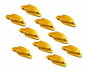 10 Cat Style Backhoe Mini Excavator Bucket Shanks 119 3205 3 4 Lip Thicknes
