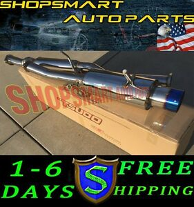 Tsudo Catback Exhaust Systems For Subaru Impreza Wrx Sti 02 07 Burn Burnt Tip