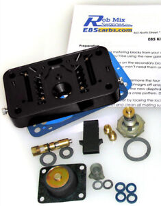 4412 Or 2300 E85 Conversion Kit For Holley 500 350 2 Br Carb Blk Do it yourself