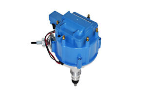 A Team 64 65 66 67 68 Ford Mustang Straight 6 Cyl 170 200 Hei Distributor Blue