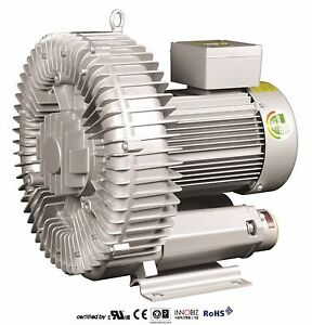Pacific Regenerative Blower Pb 500 hrb 500 Ring Vacuum And Pressure Blower