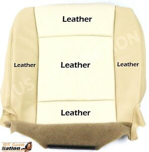 2006 2008 Ford Explorer Limited Driver Bottom Replacement Leather Seat Cover Tan