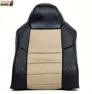 2005 Ford Excursion Eddie Bauer Driver Top Lean Back Leather Seat Cover 2 Tone