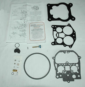1972 Carb Kit 4 Barrel Rochester Q Jet 4mv 350 Eng Corvette Chevy Ethanol Tol