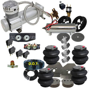 Airbag Suspension Kit 1963 1972 Chevy C10 Airride 2600bag F 19 1 4