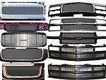 A Bil Gmc 33 Grille 2004 2006 Gmc Sierra 1500 Gmc04 Xx Canyon New Body C3