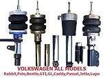 Fbx F Vol 38 1990 1992 Volkswagen Passat 4wd Front Air Suspension Ride Kit