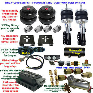 Fbs Do Nitro Dodge Plug And Play Fbss Complete Air Suspension Kits
