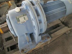 Sumitomo Sm Cyclo Gear Motor 15hp 4190 43 1 W Brake