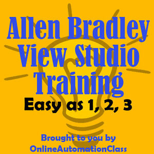 Allen Bradley Factorytalk View Studio Me Training Tutorial