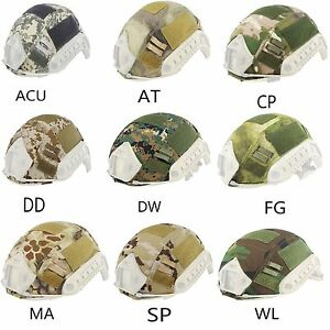 Tactical Airsoft Military Helmet Cover For OPS-CORE Fast Helmet BJ PJ MH Gear