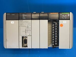Omron Pa203 Power Supply Cqm1h cpu5 1 Controller Smr21 v1 Modules Plc