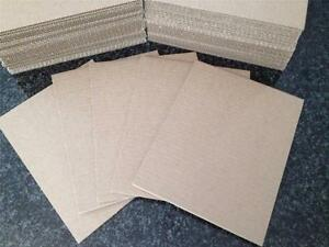 100 11 X 14 Corrugated Cardboard Kraft Pads Inserts Sheet 32 Ect Made In Usa