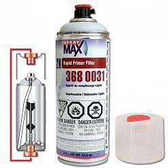Lot Of 24 Cans Usc Spraymax 2k Rapid Primer Filler Non Iso Gray Usc 3680031
