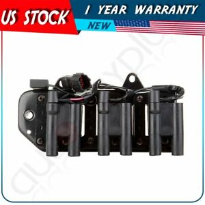 New Ignition Coil Fit For 2002 2003 2004 2005 Hyundai Sonata 61058557 2730137100