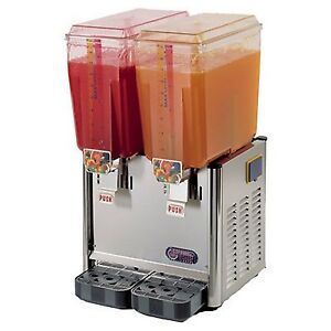 Cofrimell 2 Bowl Cold Drink Dispenser Jetcof 240 S Free Shipping