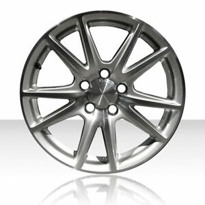 Revolve 17x8 5 Machined And Silver Rear Wheel For 2004 08 Honda S2000