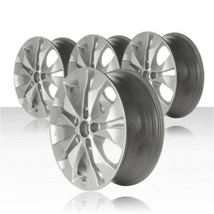 Revolve 17x6 5 Silver Wheel For 2012 2014 Honda Cr v set Of 4