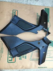 Porsche 944 Turbo S Rear Speaker Quarter Panels Black