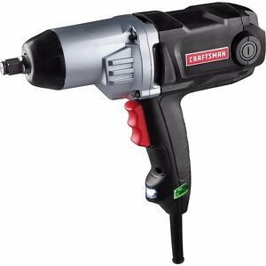 Craftsman 8 Amp Impact Wrench Electric Corded 350 Ft Lbs 6903 27990