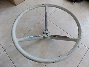 1958 60 Ford Thunderbird T Bird Original Steering Wheel