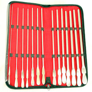 Bdeals Dittle Urethral Sounds Kit Set Of 14 Pieces Stainless Steel 8fr To 34 Fr