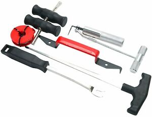 Professional Windshield Removal Automotive Wind Glass Remover Tool 7pcs Kit