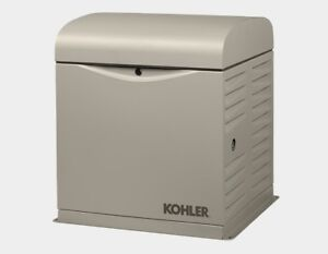 Kohler 8kw Stationary Back up Power Generator Lp Vapor Or Natural Gas 8resv