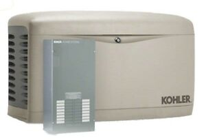 Kohler 14kw Stationary Back up Power Generator Lp Natural Gas 100a Ats 14resal