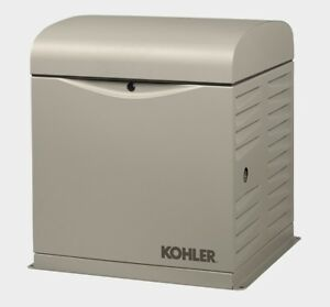 Kohler 10kw Stationary Back up Power Generator Lp Vapor Or Natural Gas 10resv