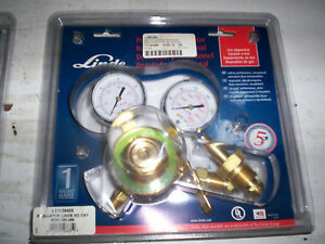 Linde Oxygen Regulator l11136408 Md New