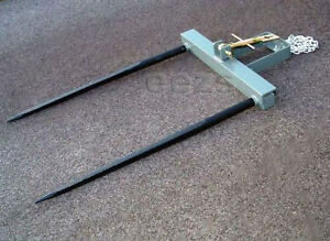 Sd Bucket Hay Bale Spear Attachment 2 X 49 Prongs 2s1c