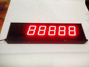 Electronic Digital Display Sign Ed406 109 5d n1 5 Digit