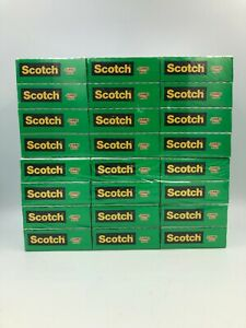 Lot Of 2 Scotch Magictape 3m12 X 2 24 Jumbo Rolls Invisible Clear 3 4 X1500 In