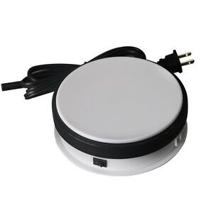 15cm 360 Degree Rotating Display Stand Turntable For 3d Jewelry Photography