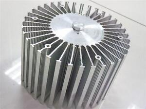 1pc Up To 100w Watt Led Aluminium Heatsink Round 220v Dia160mm 100mm h