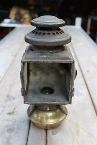 1915 Ford Model T Black And Brass Cowl Light Good Condition With Electric Light